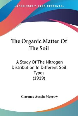 The Organic Matter of the Soil