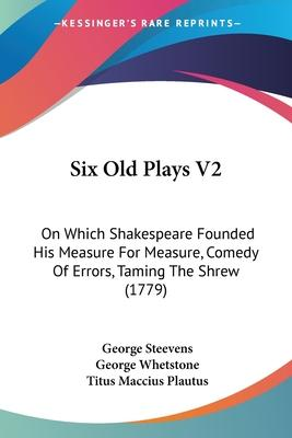 Six Old Plays V2