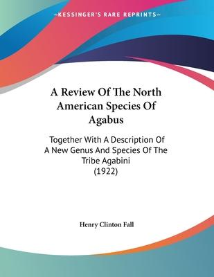 A Review of the North American Species of Agabus
