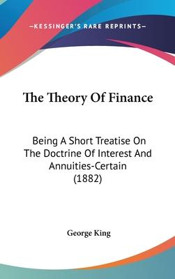 The Theory of Finance