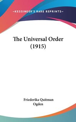 The Universal Order (1915)