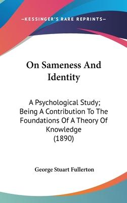 On Sameness and Identity