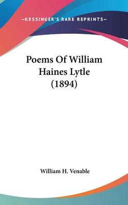 Poems of William Haines Lytle (1894)