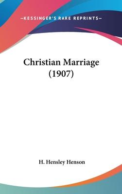 Christian Marriage (1907)