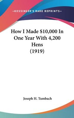 How I Made $10,000 in One Year with 4,200 Hens (1919)