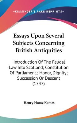 Essays Upon Several Subjects Concerning British Antiquities