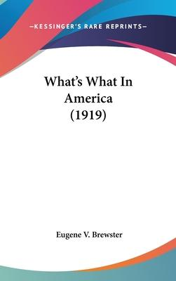 What's What in America (1919)
