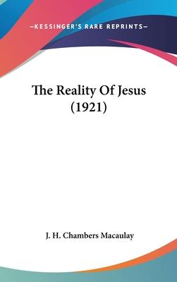 The Reality of Jesus (1921)