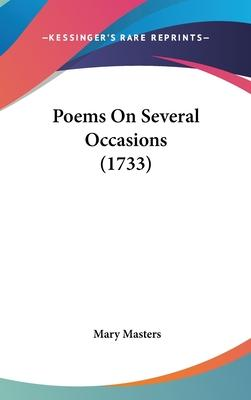 Poems on Several Occasions (1733)