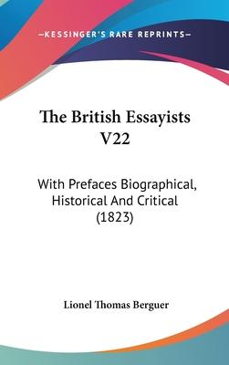 The British Essayists V22