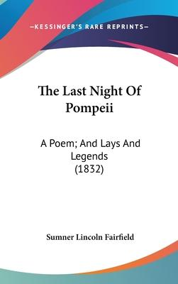 The Last Night of Pompeii