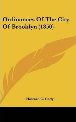 Ordinances of the City of Brooklyn (1850)