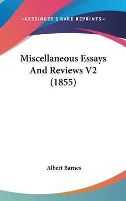 Miscellaneous Essays and Reviews V2 (1855)