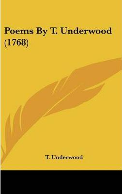 Poems by T. Underwood (1768)