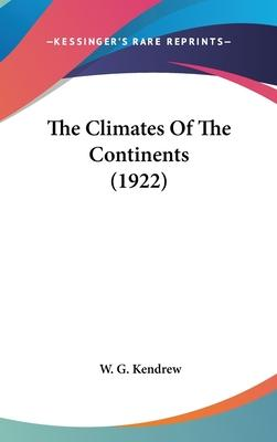 The Climates of the Continents (1922)