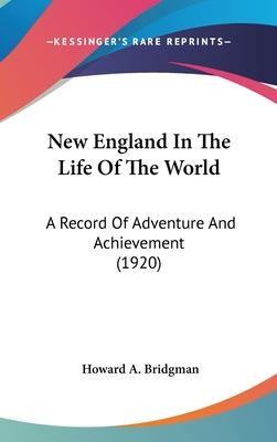 New England in the Life of the World