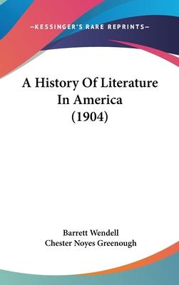A History of Literature in America (1904)
