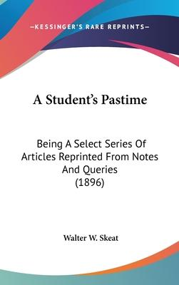 A Student's Pastime