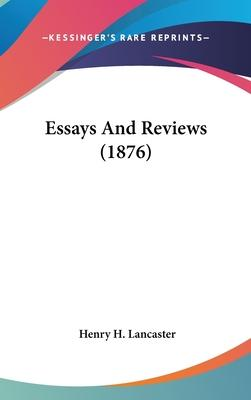 Essays and Reviews (1876)