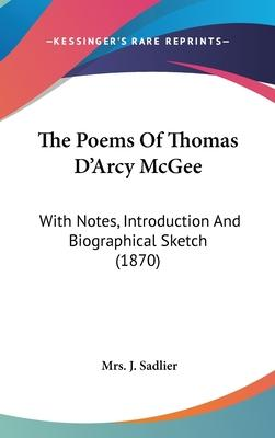 The Poems of Thomas D'Arcy McGee