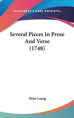 Several Pieces in Prose and Verse (1748)