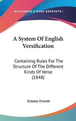 A System of English Versification