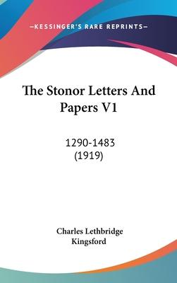 The Stonor Letters and Papers V1