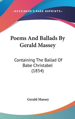 Poems And Ballads By Gerald Massey