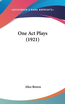 One Act Plays (1921)