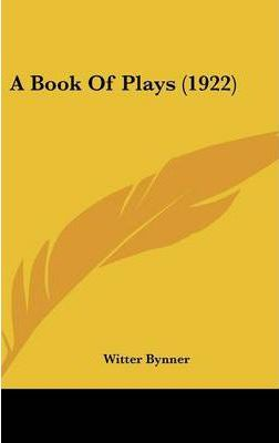 A Book of Plays (1922)