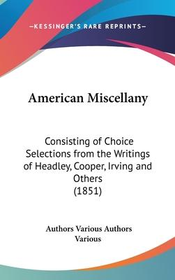 American Miscellany