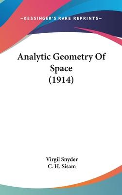 Analytic Geometry of Space (1914)