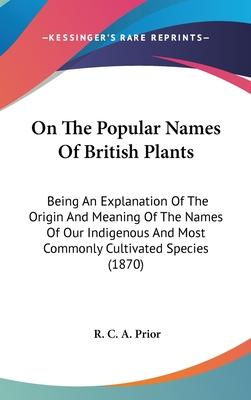 On the Popular Names of British Plants