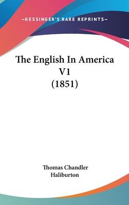 The English in America V1 (1851)