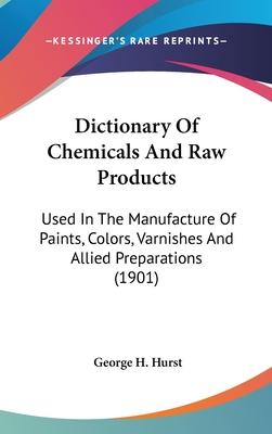 Dictionary of Chemicals and Raw Products