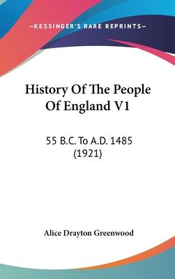 History of the People of England V1