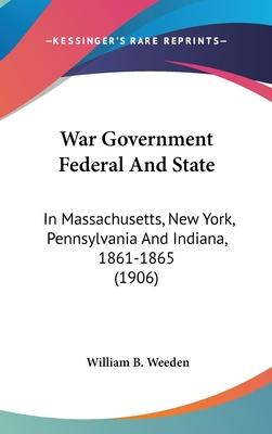 War Government Federal and State