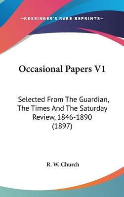 Occasional Papers V1