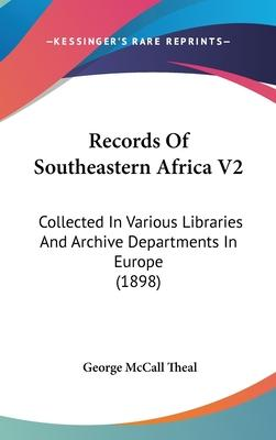 Records of Southeastern Africa V2