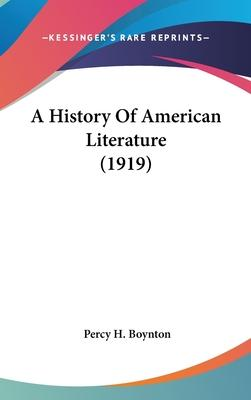 A History of American Literature (1919)