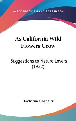 As California Wild Flowers Grow