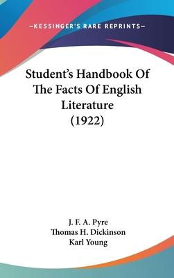 Student's Handbook of the Facts of English Literature (1922)