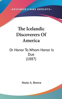 The Icelandic Discoverers of America