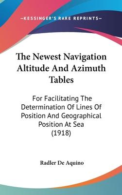 The Newest Navigation Altitude and Azimuth Tables