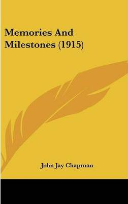 Memories and Milestones (1915)