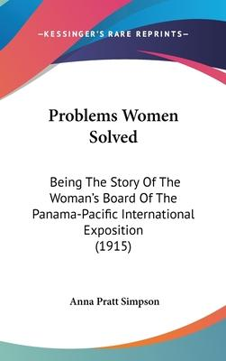 Problems Women Solved