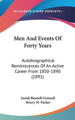 Men and Events of Forty Years
