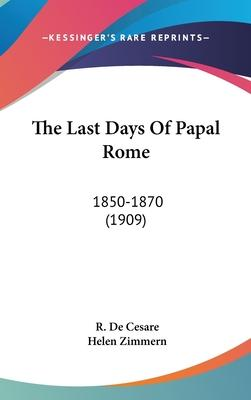The Last Days of Papal Rome