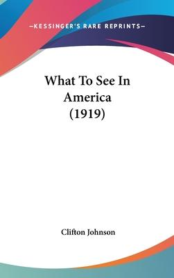 What to See in America (1919)