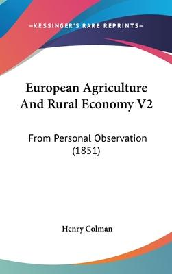 European Agriculture And Rural Economy V2